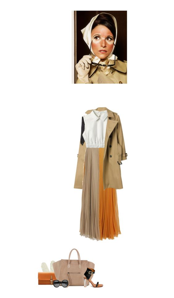 """CARVEN Top & Maison Martin Margiela Maxi-Skirt"" by abigail-abigail ❤ liked on Polyvore"