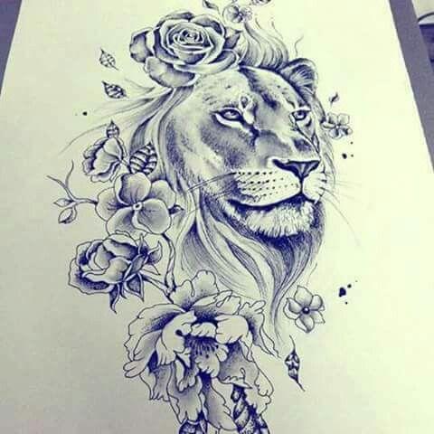 Pin By Kimberly Quaranta On Tatuagens Lioness Tattoo Lion Tattoo Tattoos