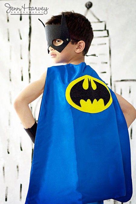 disfraz casero batman