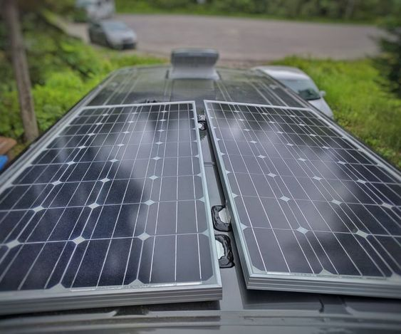 How To Install Solar Panel S On A Camper Van Conversion Solar Panels Solar Panel Installation Best Solar Panels