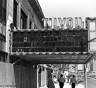 The RKO Tilyou Theater, Coney Island. Demolished 1973.