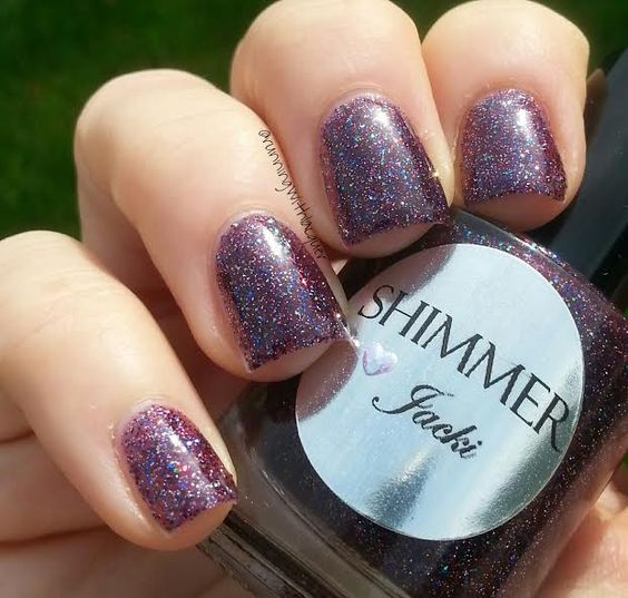 Shimmer Polish Jacki Running with Lacquer
