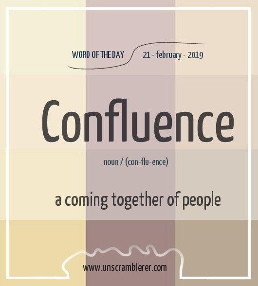 Confluence English Vocabulary Words Good Vocabulary Words Interesting English Words