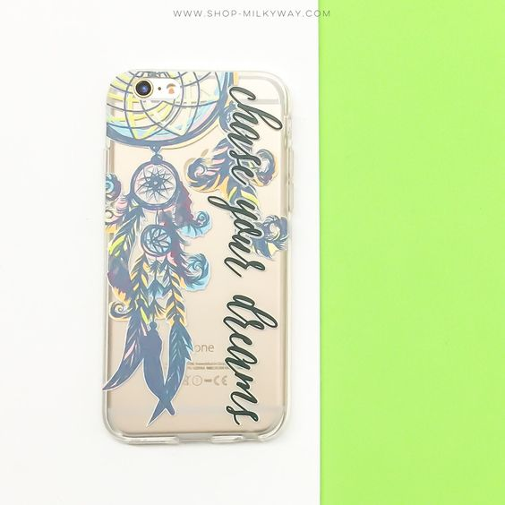 Clear TPU Case Cover - Chase Your Dreams – Milkyway