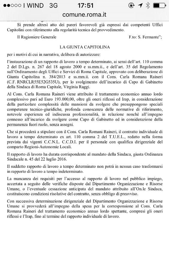 """ROMA, SANTORI-FIGLIOMENI (FDI) : """"SUPER STIPENDIO PER CAPO GABINETTO RAGGI""""  """"Alla faccia del risparmio e del taglio dei costi promesso in campagna elettorale. Per fortuna che si erano presentati come i diversi. Si infatti i più costosi"""" lo dichiarano in una nota Fabrizio Santori e Francesco Figliomeni, consigliere regionale e capitolino di Fratelli d'Italia"""