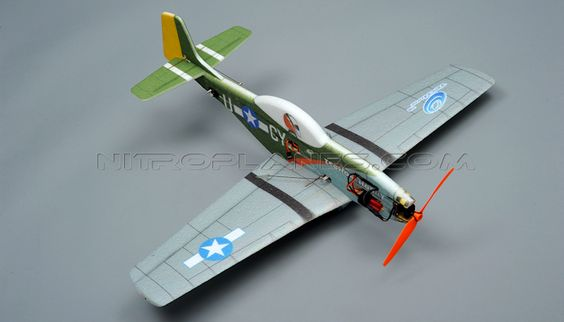 Tech One RC 4 Channel P51 EPP ARF Version Plane Kit