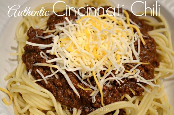 ... authentic cincinnati chili recipes dishmaps authentic cincinnati chili