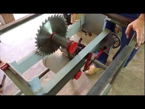 Montando uma serra circular parte 2 - YouTube