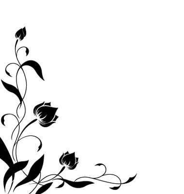 Flower Border Pattern Vector 217387 By MariStep On