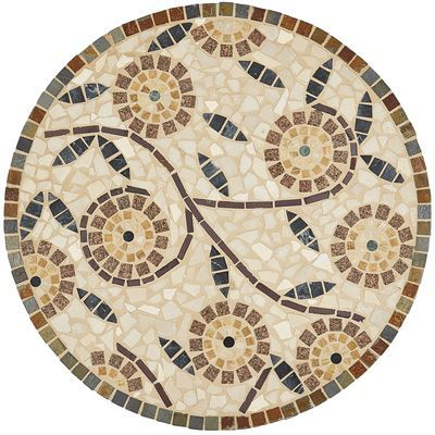 """Monterosso Mosaic Table Top - 30"""""""