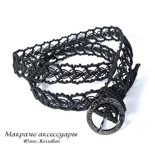 Makrame Shop by Yulia Zheglova. Lots of lovely things (belts, bags, jewellery etc.)