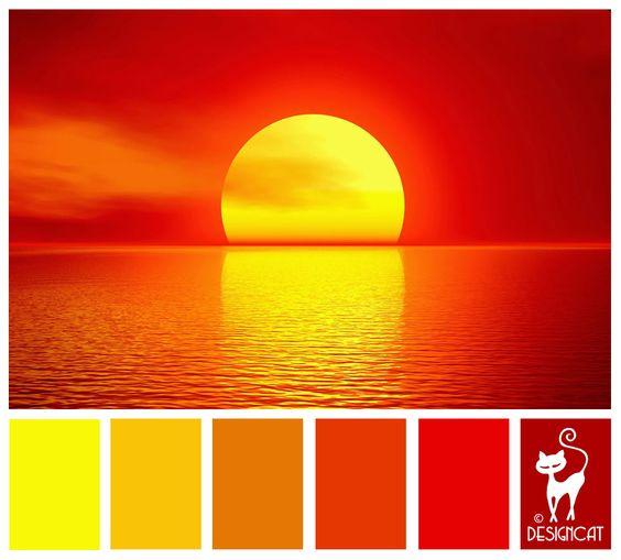 burning sun red orange burnt yellow umber. Black Bedroom Furniture Sets. Home Design Ideas