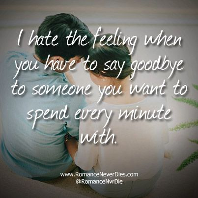 When You Have to Say Goodbye to Someone You Love -http ...