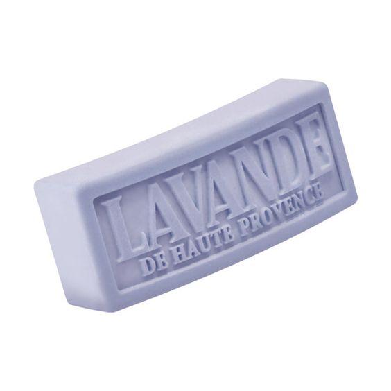 AMO sabonete em barra gravado, como esse. Cheiroso, de lavanda, melhor ainda.