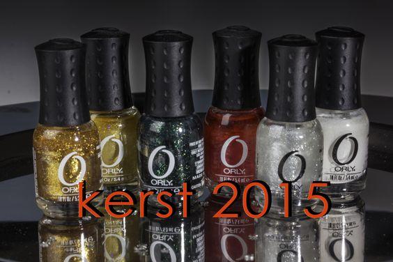 #nagellak,#minilak,#mini nagellak, #kerst nagellak, #orly nagellak