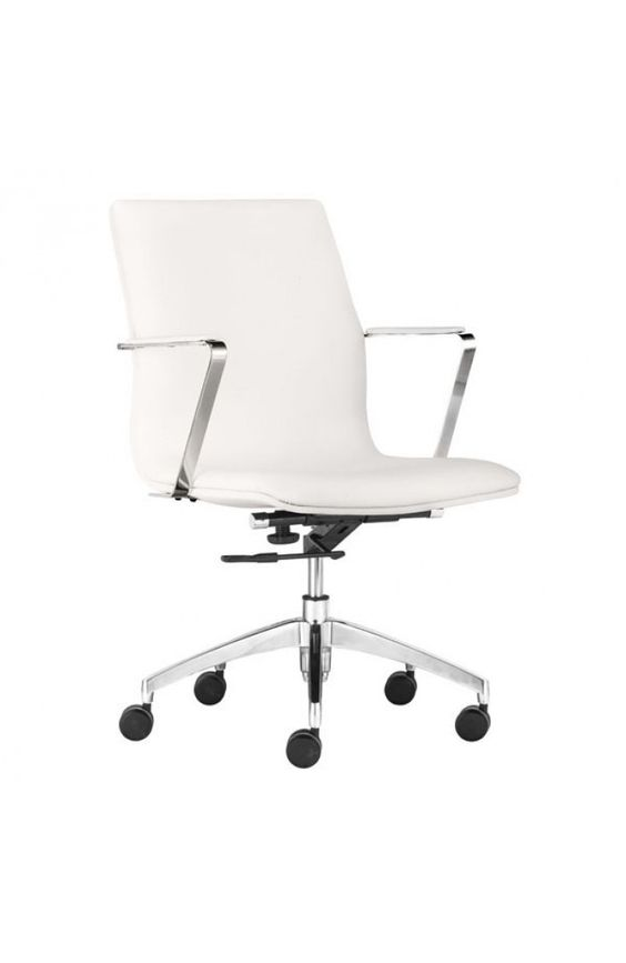 Herald Low Back Office Chair White