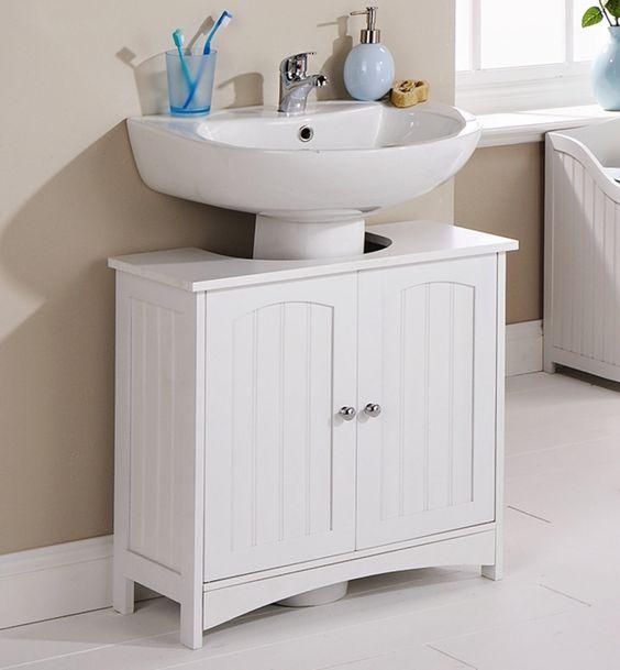 Three Posts Ashbury 60cm x 60cm Free Standing Under Sink Cabinet & Reviews | Wayfair.co.uk
