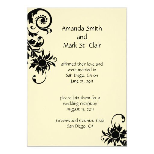 Wedding Reception Invitation Wording Already Married In 2020 Reception Invitations Wedding Reception Invitations Reception Invitation Wording