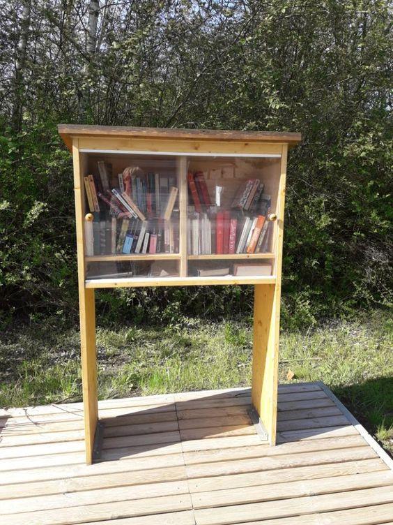 Boîte à livres Montigny-le-Tilleul