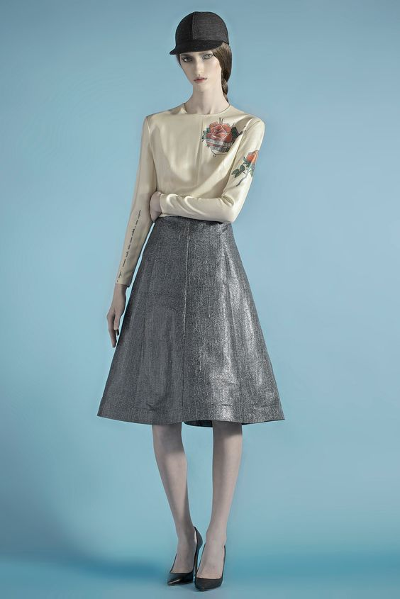 Vika Gazinskaya Fall 2014 Ready-to-Wear - Collection - Gallery - Style.com