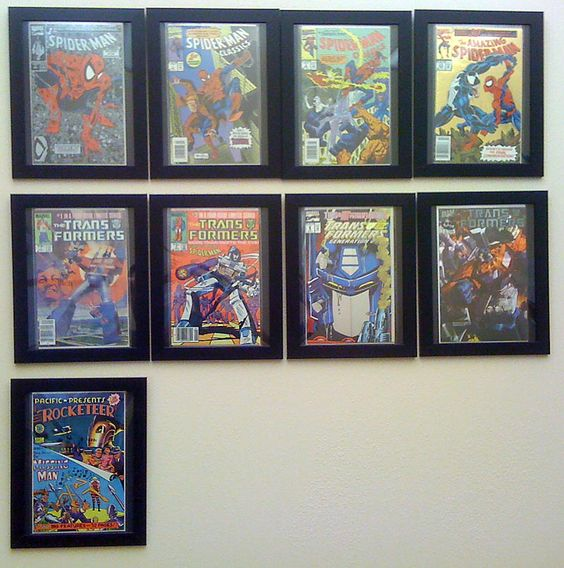 ikea comic book photo frame hack whatever pinterest comic book frames searching and style. Black Bedroom Furniture Sets. Home Design Ideas