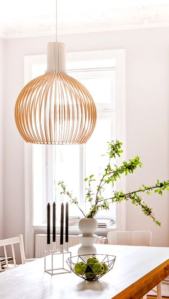 Octo pendant by Secto Design, Finland and Kubus 4 by By Lassen ...