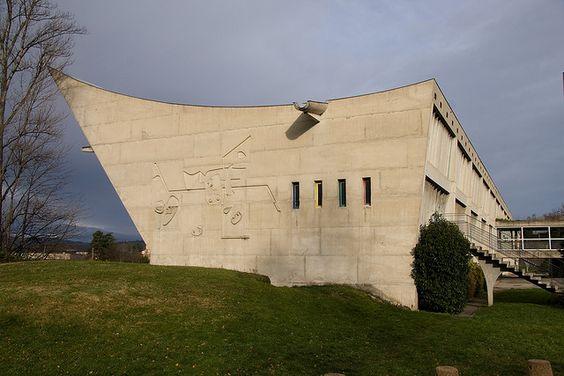 1965 maison de la culture de firminy vert le corbusier pinterest cultu - Maison de la culture de firminy vert ...