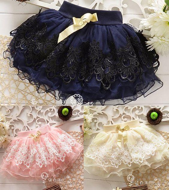US Toddler Baby Girls Child Dress Mini Bust Skirt Kid Tutu Dress Short Skirts LX | eBay
