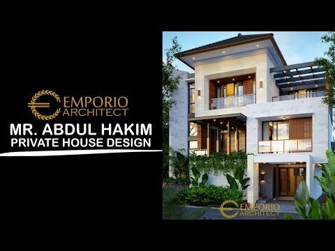 Jasa Arsitek 3d Video Desain Rumah Bapak Abdul Hakim Jakarta