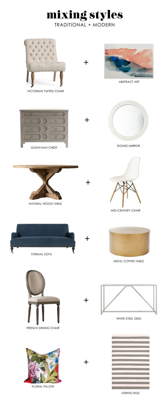 Mixing Styles: Traditional + Modern || Studio McGee: