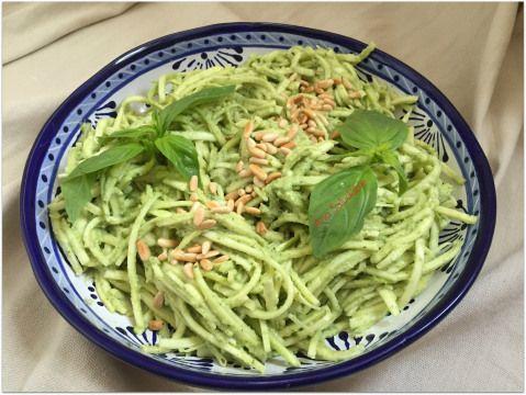 Espaguetis de zucchini