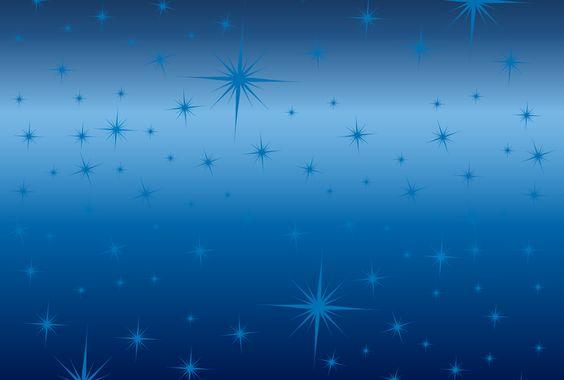 キラキラの光を表現したブルーグラデーションの背景素材
