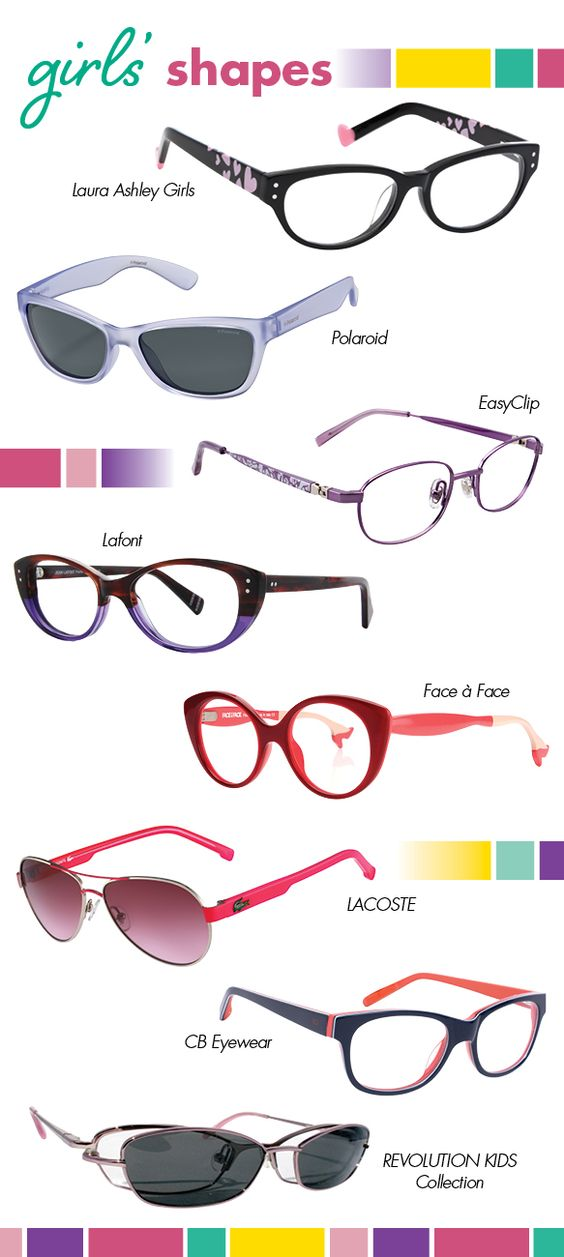 Statement-making and demure cat-eyes, classical wayfarers and aviators, studious oval and almond silhouettes