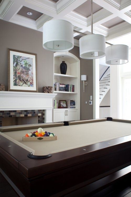 Pool Table Felt Color | Pool Table Room | Pinterest | Pool Table, Pool  Table Felt And Grey Feature Wall