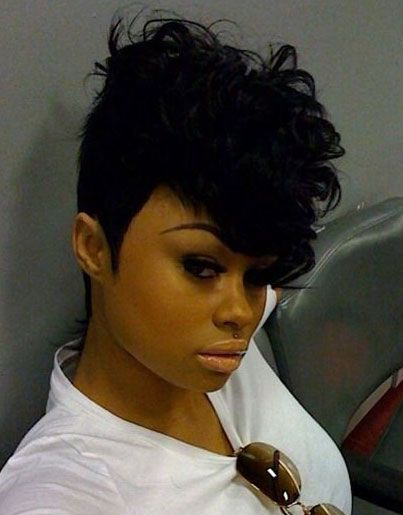 Pleasing Mohawks Mohawk Hairstyles And Hairstyles For Black Women On Pinterest Short Hairstyles Gunalazisus