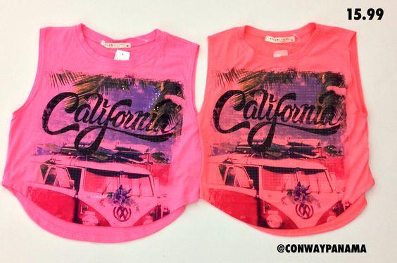 #Fashion #FashionPanamá #Panamá #ILikeIt #ConwayModa #Moda #Tshirt #California