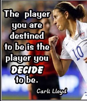 Carli Lloyd Quotes Captivating Carli Lloyd With Michelle Akers 'the Legend And My Favorite