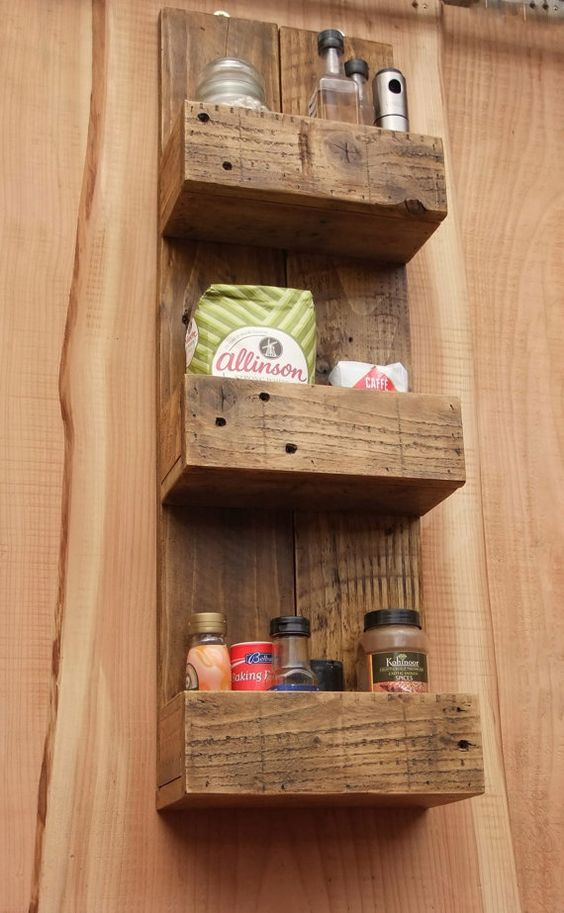 Rustic kitchens bathroom storage and bathroom storage for Bathroom ideas made from pallets