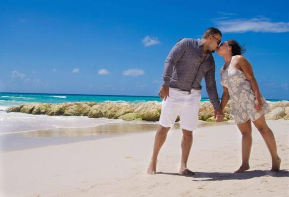 He planned the most amazing destination proposal in Barbados with @Sandalsresorts, and it's so amazing!
