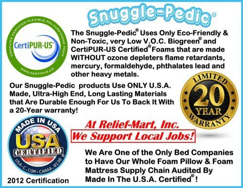 Snuggle Pedic Deluxe Adjustable Pillow With Extra Fill Hypoallergenic Pillows Bamboo Pillow Memory Foam Pillow