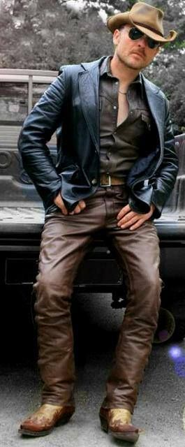 from Jordy gay cowboys in leather