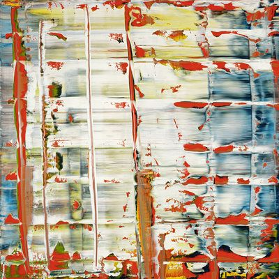 Gerhard Richter / Abstract Painting 1992
