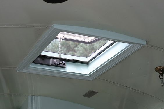 Replacing The Emergency Roof Hatch With A Skylight Rv