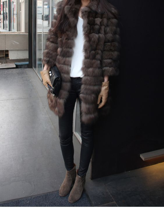 Canada Goose mens online 2016 - Love the fur and the leather jeans but I would wear other shoes ...