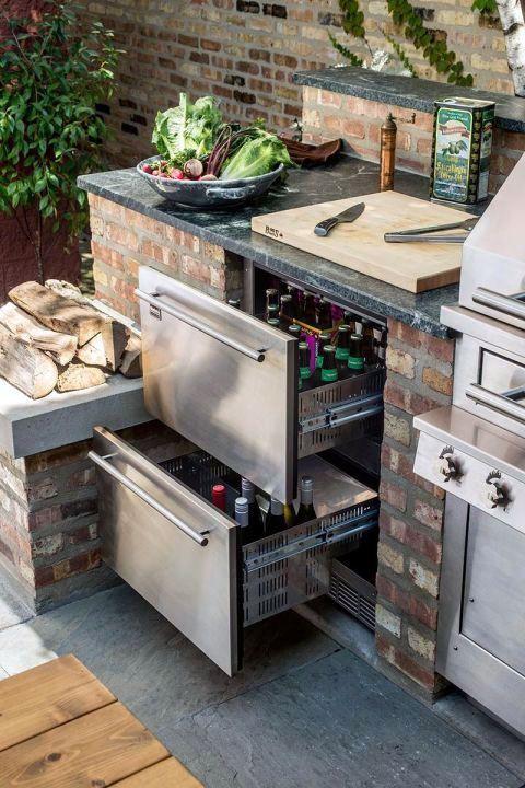 Graceful Outdoor Kitchen Storage Ideas Only On This Page Outdoor Kitchen Countertops Outdoor Kitchen Design Diy Outdoor Kitchen