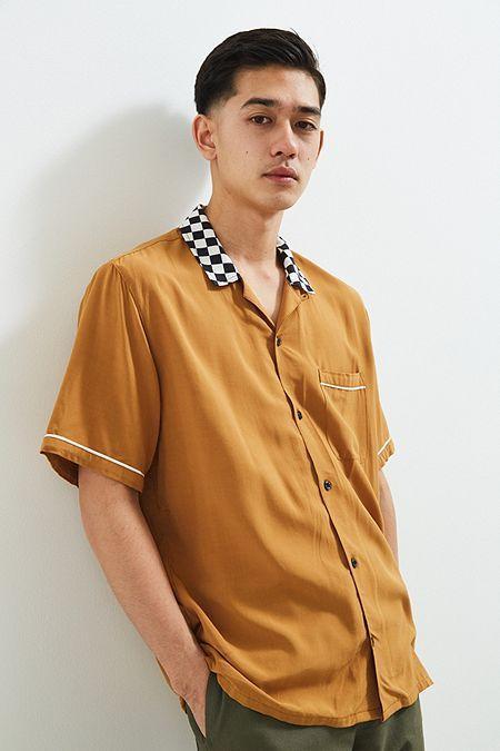 UO Liam Rayon Bowling Shirt