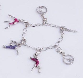 Gymnast Charm Bracelet - Only $5!