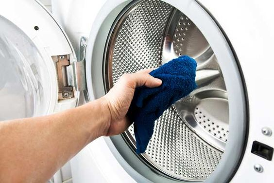 How to Clean Your Washer and Dryer | See what you can do to keep your laundry room mildew and danger free. #HomeMattersBlog