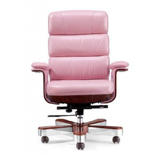 Luxury Executive Chair Pink Leather Des A020 P Order Office