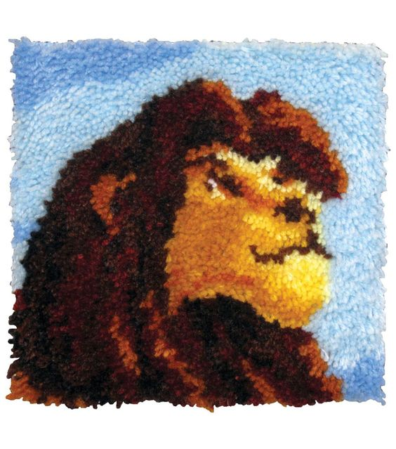 MCG Textiles Disney Dreams Latch Hook Kit The Lion King 12'' x 12''